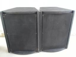 Par de caixas de som para eventos potente