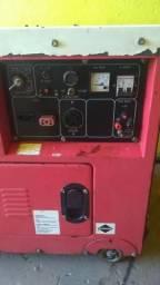 Gerador Nagano 6kva partida eletrica-diesel