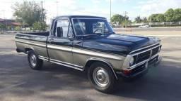 F1000 1982 (diesel) placa preta - 1982