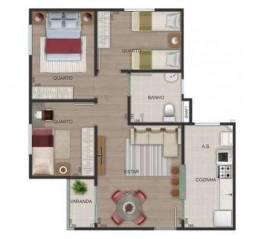 Villa Real - Apartamento de 2 quartos em Belo Horizonte, MG - ID2