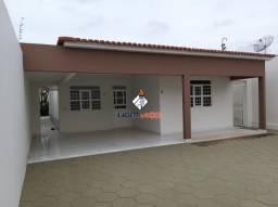 Líder imob - casa solta com 3 quartos, 1 suíte, para venda ou aluguel, na areia branca, em