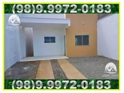 Casa Nova Pronta Entrega Toda No Porcelanato, 2 Quartos, Suíte, Araçagi.