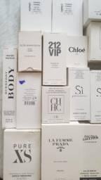 Perfumes femininos importados tester e VALORES NA DESCRIÇÃO!