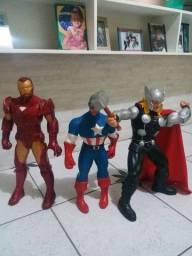 Bonecos original da Marvel todas tem a caixa