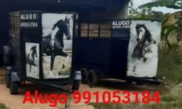 Alugo reboque para transporte cavalo