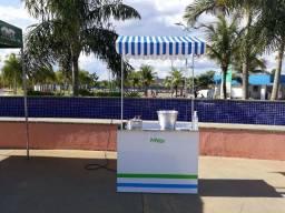 Barraca de Pipoca com panela e balde - Usada