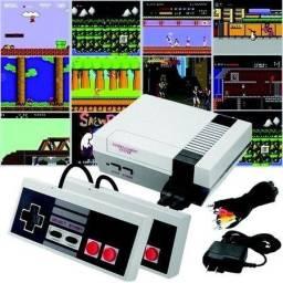 Mini Vídeo Game Com 620 Jogos Vintage Retrô Com 2 Controles