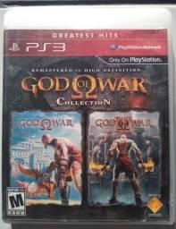 GOD OF WAR 1 e 2 EM ALTA DEFINIÇÃO PS3