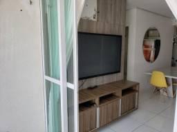 Alugo apartamento mobiliado na zona leste