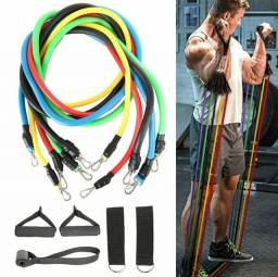 Kit elástico para exercícios fit