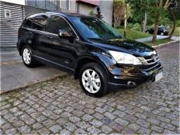 Honda CR-V LX 2011, Top, Couro, 80.000km, Ipva 21Pg, Impecável, Financio
