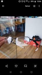 Armação De Óculos Oakley Descanso  Metal sem grau
