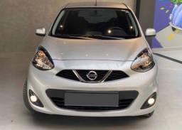 Título do anúncio: March Nissan SV manual R$ 53.990,00