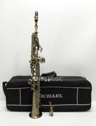 Sax Soprano Reto Michael M46 Envelhecido