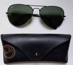 Óculos De Sol Aviador Ray Ban Original