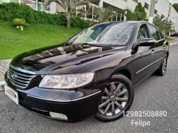 Azera 3.3 V6 2009 aut + couro! Impecavel! Troco e financio