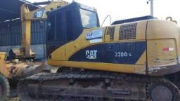 Título do anúncio: Escavadeira hidráulica Catepillar 320 DL 2009