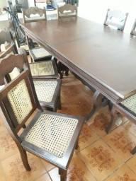 Título do anúncio: Mesa com 8 cadeiras