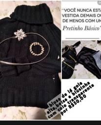 Título do anúncio: Blusa, bolsa e blusinha