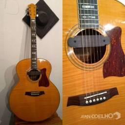 V/T violão ibanez VJ350nt com captador de Boca
