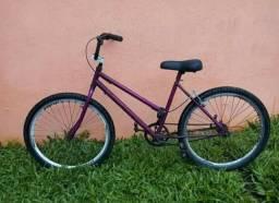 Bike aro 26 com freio