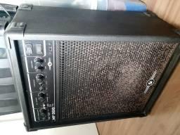 Caixa amplificada instrumentos musicais ou mic