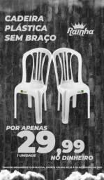 Título do anúncio: Cadeira s/ braço branca