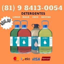 Detergente lava louças 5l