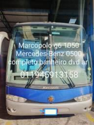 Onibus rodoviário Marcopolo g6 ano 2008 Mercedes benz 0500 completo