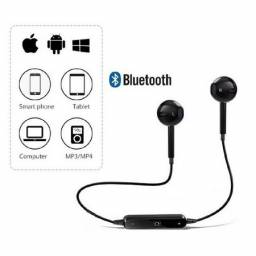 Fone de Ouvido S6 Universal Bluetooth 4.1 sem Fio Intra-Auricular Esportivo Headset