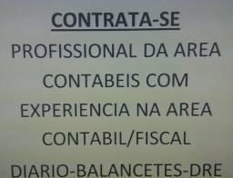 Profissional área contabilidade