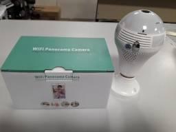 Lâmpada Espiã Câmera Ip Led Wifi Hd Panorâmica 360º Celular a pronta entrega