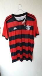 35f130cfb0 Camisa Flamengo 2018 Titular Tamanho G Número 80 na Etiqueta