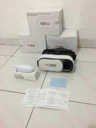 Óculos Vr Box 2.0 Realidade Virtual 3d Android Ios+controle pronta entrega