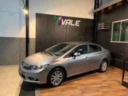 Civic LXS 1.8 16v com apenas 63 mil km e Revisões na concessionária - 2012