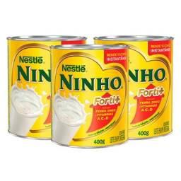 Lata de leite ninho vazia