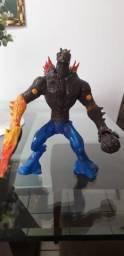 Boneco Max Steel Elementor fogo e água