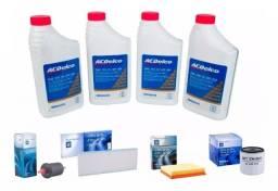 Kit Revisão 4l 5w30 Semissintético + Filtros Originais