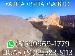Carga fechada de areia grossa ,areia média e brita , só 700,00 .CARGA DE 10 METROS