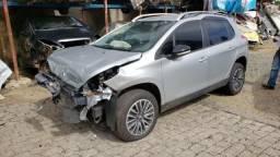 Sucata Peugeot 2008 1.6 2018/2019, para retirada de peças
