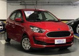 Ford Ka Completão GNV 5º Único Dono 29.000Km Revisado 1 Ano De Seguro Grátis