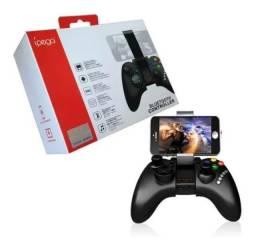 Controle Joystick Ipega Bluetooth Celular Game Android, Ios, tablet, pc
