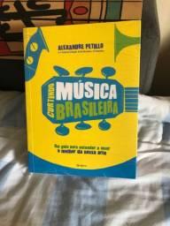 Livro lacrado Curtindo Música Brasileira