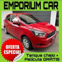 Tanque cheio so na emporium car!!! ford ka se 1.0 ano 2017 com 1 mil de entrad