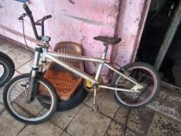 Bicicleta crosinha aro 20 aluminium
