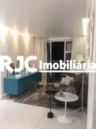 Apartamento à venda com 3 dormitórios em São cristóvão, Rio de janeiro cod:MBAP33401