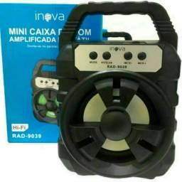 Caixa de som Amplifica portátil inova