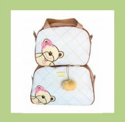 Conjunto de bolsas para maternidade