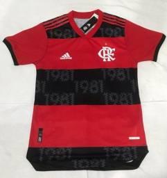 Camisa Flamengo modelo jogador tamanho M