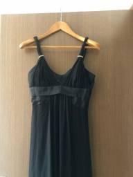 Título do anúncio: Vestido longo preto